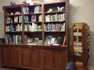 TGO Nature Center, library, books, cd, dvd, nature