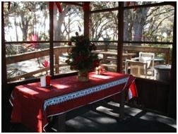 TGO Nature Center, nature, center, old, Christmas, Table, decorated