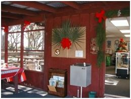 TGO Nature Center, nature, center, Christmas, decorations
