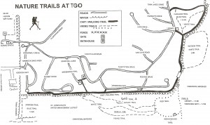 TGO Nature Center Trail Map