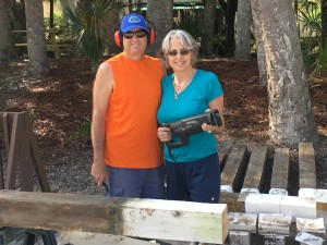TGO Nature Center, Nature, The Great Outdoors, Titusville, Florida, TGO, Volunteers, Projects, Posts, Repurpose, Billy, Patsy, Killingsworth