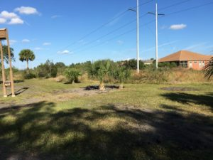TGO Nature Center, Nature, The Great Outdoors, Titusville, Florida, TGO, Volunteers, Ron Peoples, Dirt Spreading